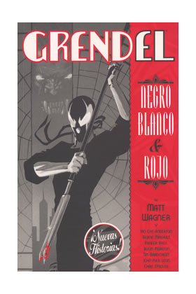 GRENDEL NEGRO , BLANCO Y ROJO 01