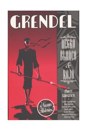 GRENDEL NEGRO , BLANCO Y ROJO 02