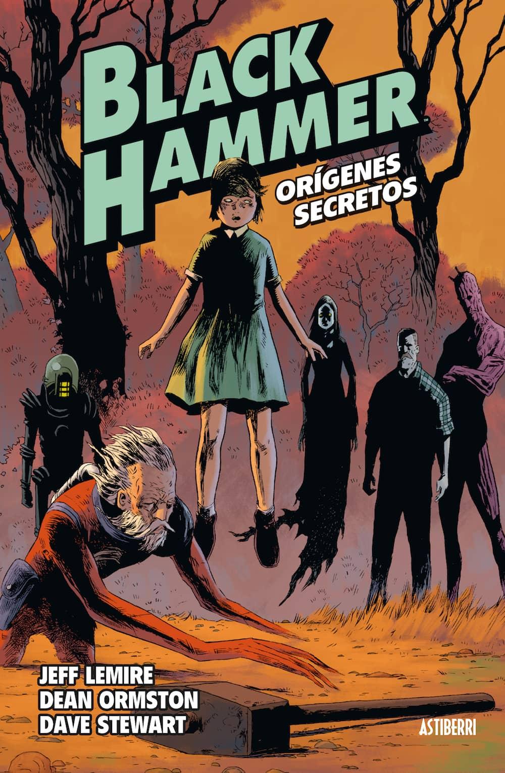 BLACK HAMMER 01. ORIGENES SECRETOS