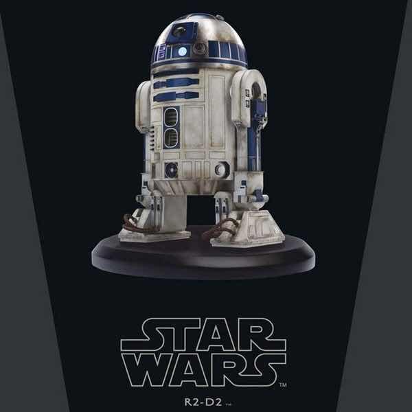 R2-D2 VERSION #3 ESTATUA RESINA 10.5 CM STAR WARS ELITE COLLECTION