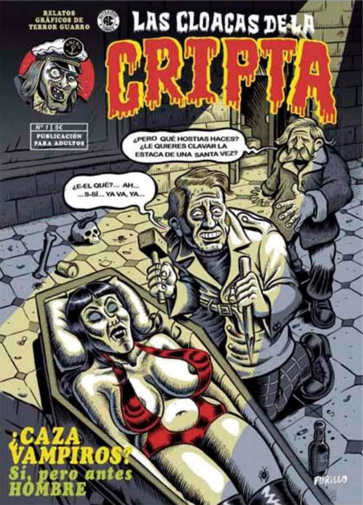 LAS CLOACAS DE LA CRIPTA 01