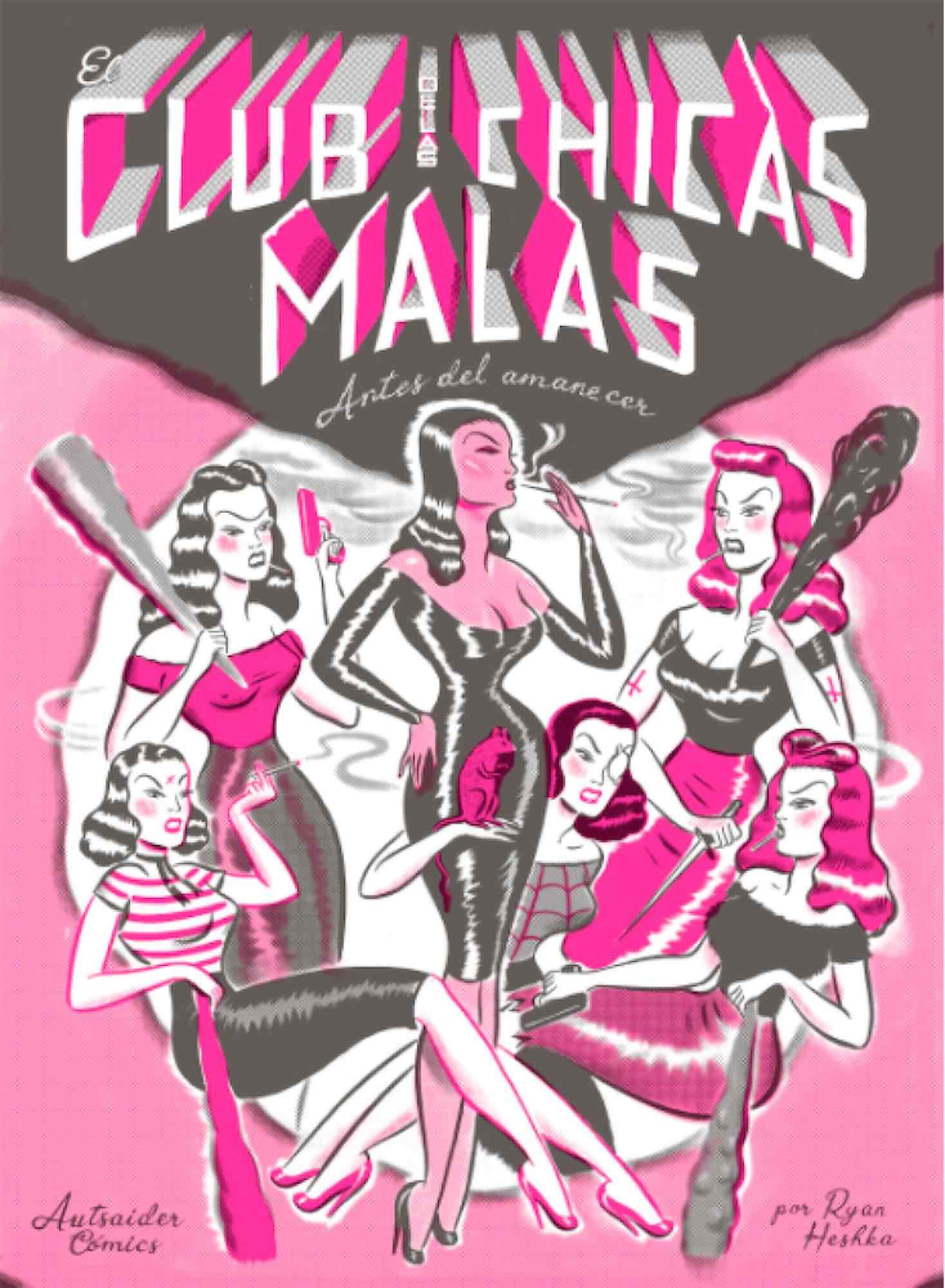 EL CLUB DE LAS CHICAS MALAS: ANTES DEL AMANECER