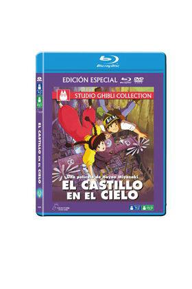 EL CASTILLO EN EL CIELO COMBO BLU·RAY+DVD