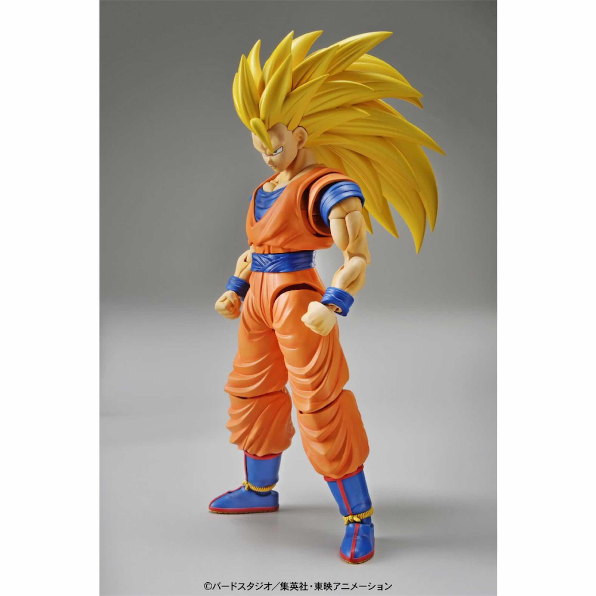 SON GOKU SUPER SAIYAN 3 MODEL KIT FIGURA 14 CM DRAGON BALL Z FIGURE-RISE STANDARD