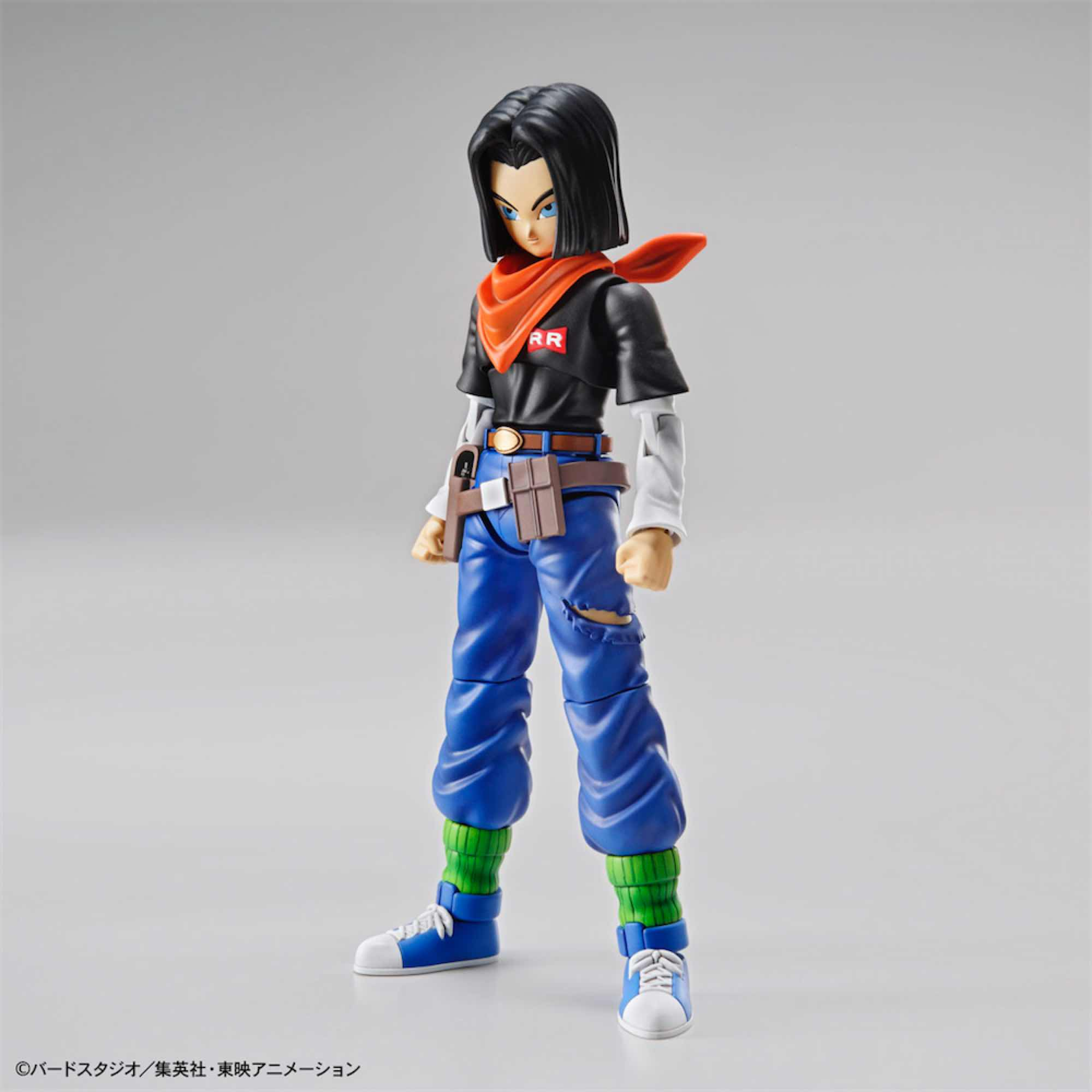 ANDROIDE A17 MODEL KIT FIGURA 14 CM DRAGON BALL Z FIGURE-RISE STANDARD 83584P