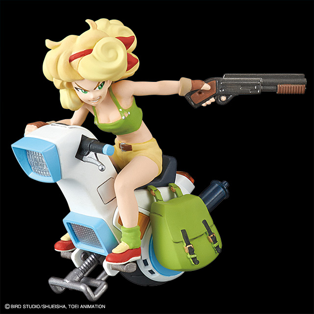 LUNCH ONE-WHEEL MOTORCYCLE MODEL KIT VOL 3 REPLICA 8 CM DRAGON BALL MECHA COLLECTION