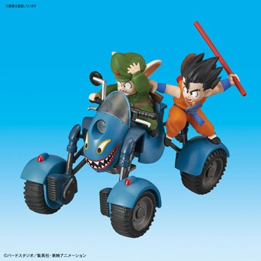 OOLONG ROAD BUGGY MODEL KIT VOL 6 REPLICA 8 CM DRAGON BALL MECHA COLLECTION
