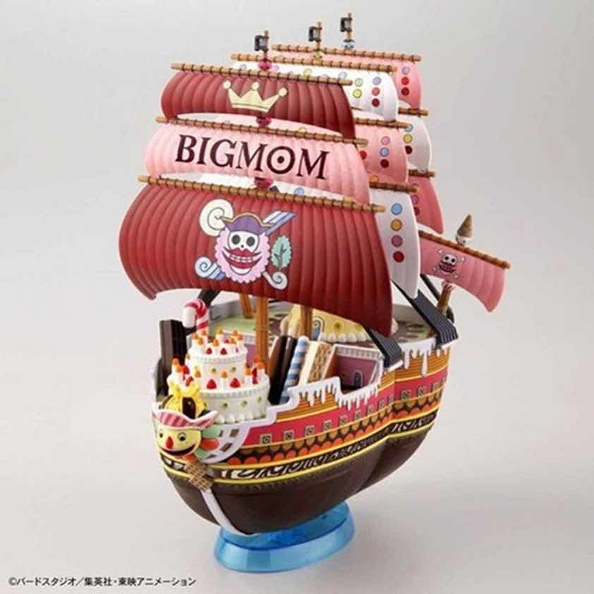 QUEEN-MAMA-CHANTER MODEL KIT FIGURA 15 CM ONE PIECE GRAND SHIP COLLECTION