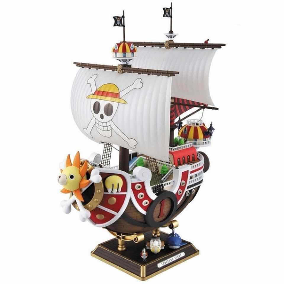THOUSAND SUNNY NEW WORLD VER. MODEL KIT FIGURA 30 CM ONE PIECE HI-END SHIPS