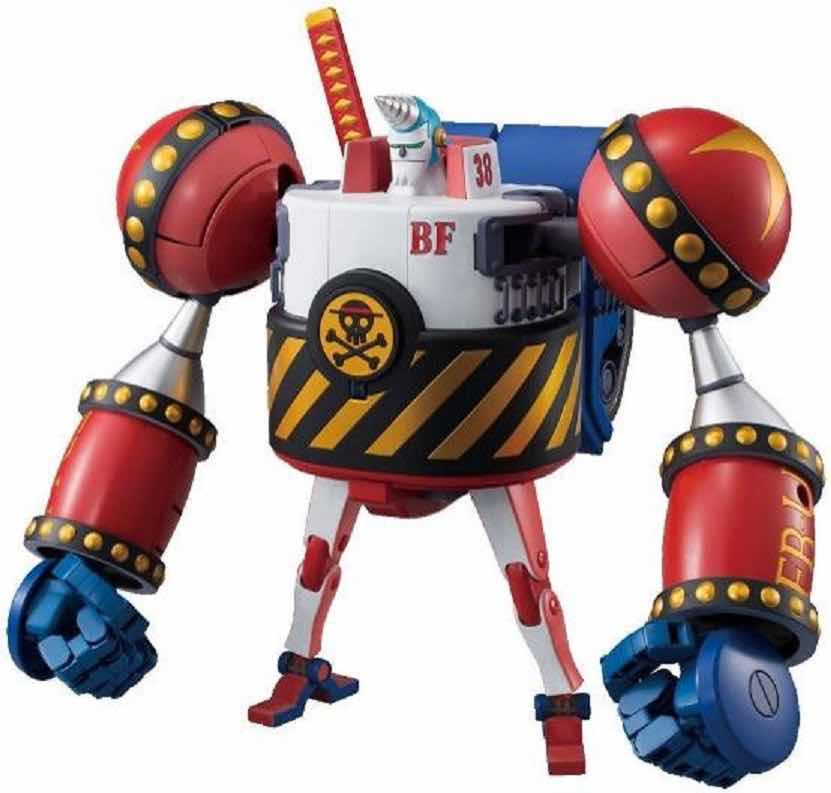 GENERAL FRANKY BEST MECHA COLLECTION MODEL KIT FIGURA 25 CM ONE PIECE HI-END