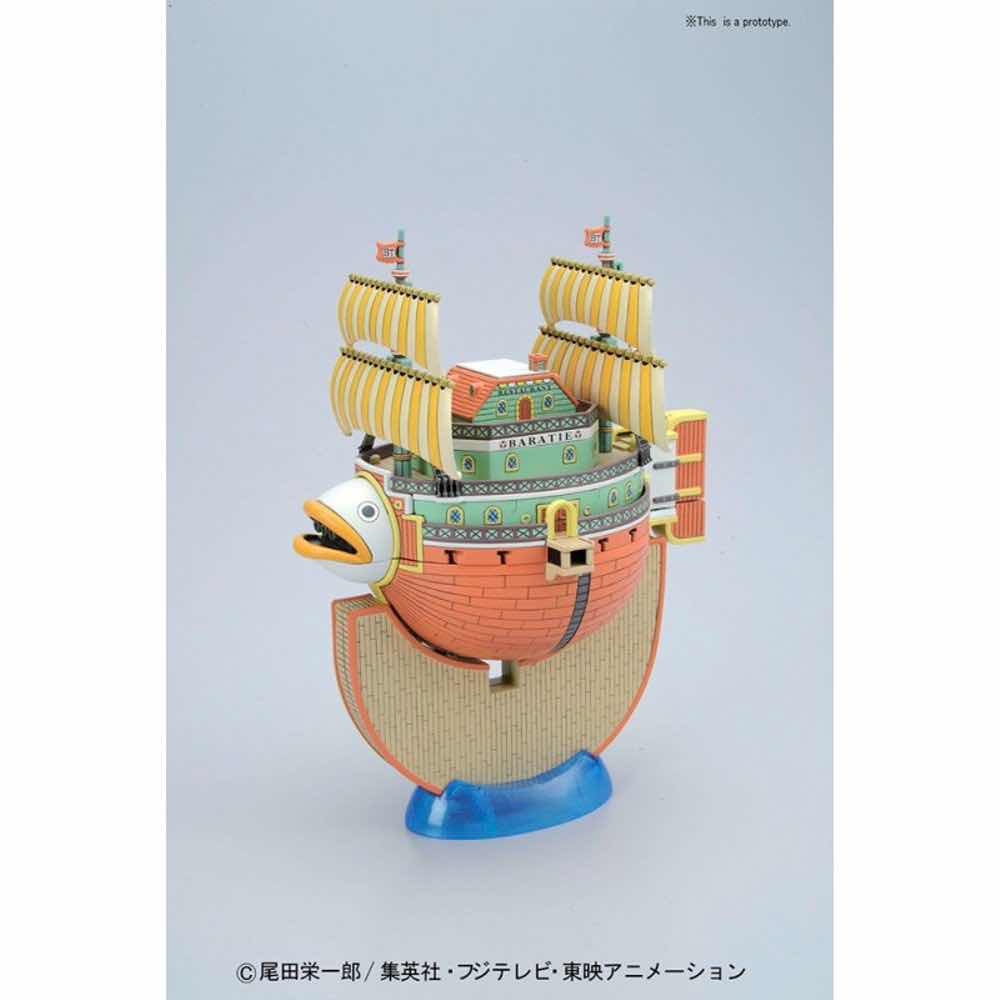 BARATIE MODEL KIT FIGURA 15 CM ONE PIECE GRAND SHIP COLLECTION