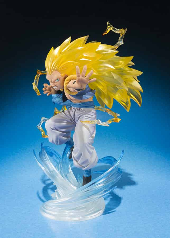 GOTENKS SUPER SAIYAN 3 FIGURA 11 CM DRAGON BALL Z  FIGUARTS ZERO