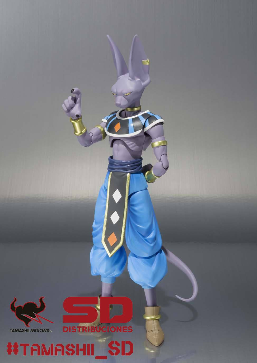 BILLS (BEERUS) EL DESTRUCTOR FIGURA 17 CM DRAGON BALL Z RESURRECTION F S.H. FIGUARTS