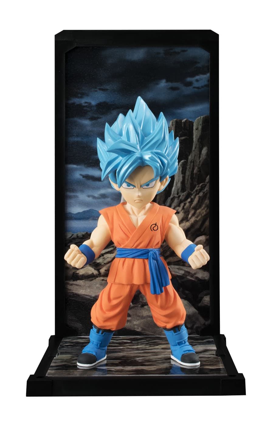 SSGSS SON GOKU FIGURA 9 CM DRAGON BALL SUPER TAMASHII BUDDIES