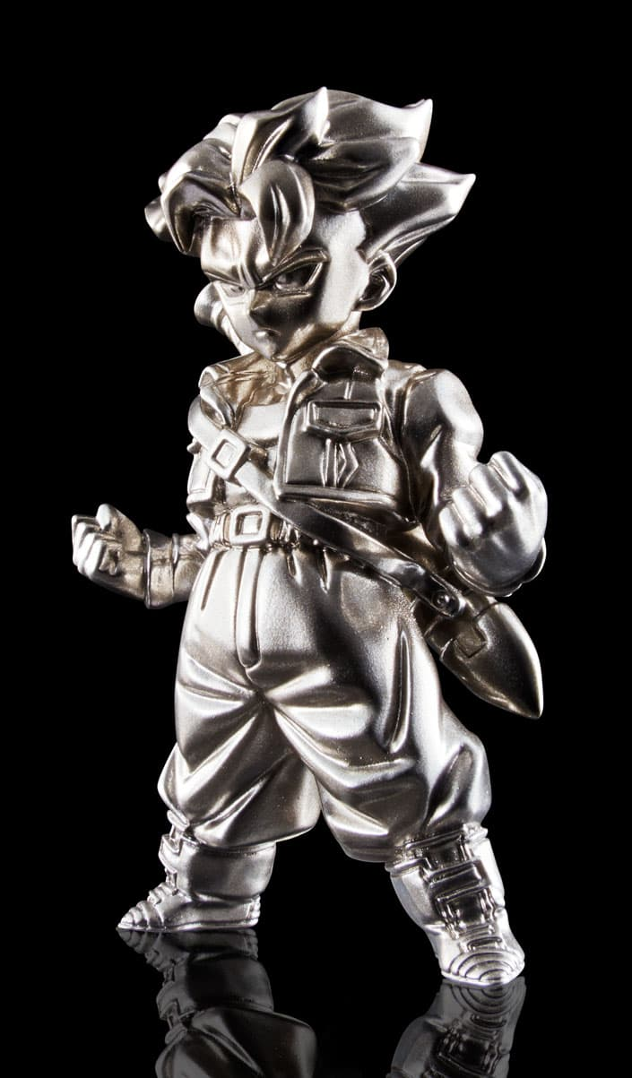 SUPER SAIYAN TRUNKS MINI FIGURA 7 CM DRAGON BALL Z SERIES ABSOLUTE CHOGOKIN