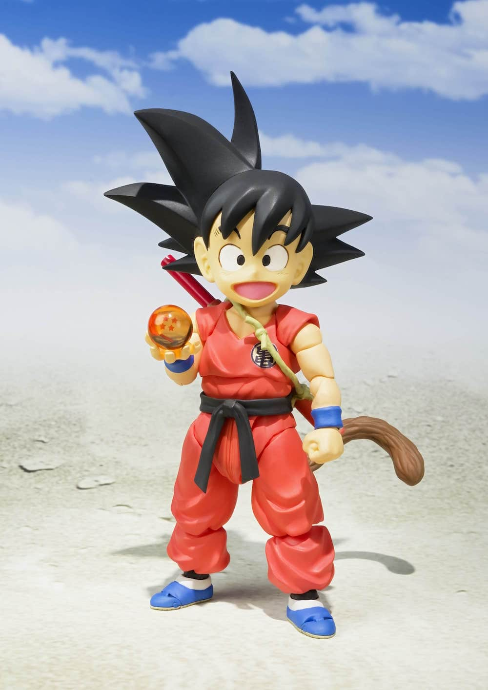 KID GOKU GOKU NIÑO FIGURA 10 CM DRAGON BALL SH FIGUARTS