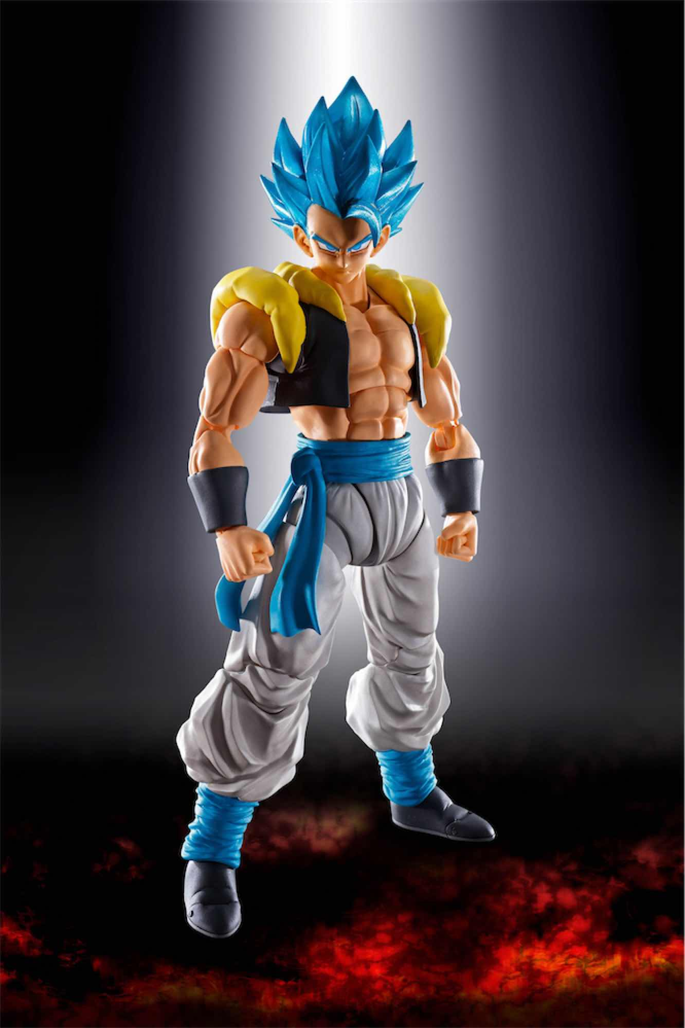 SUPER SAIYAN GOD SUPER SAIYAN GOGETA FIGURA 14 CM DRAGON BALL SUPER SH FIGUARTS