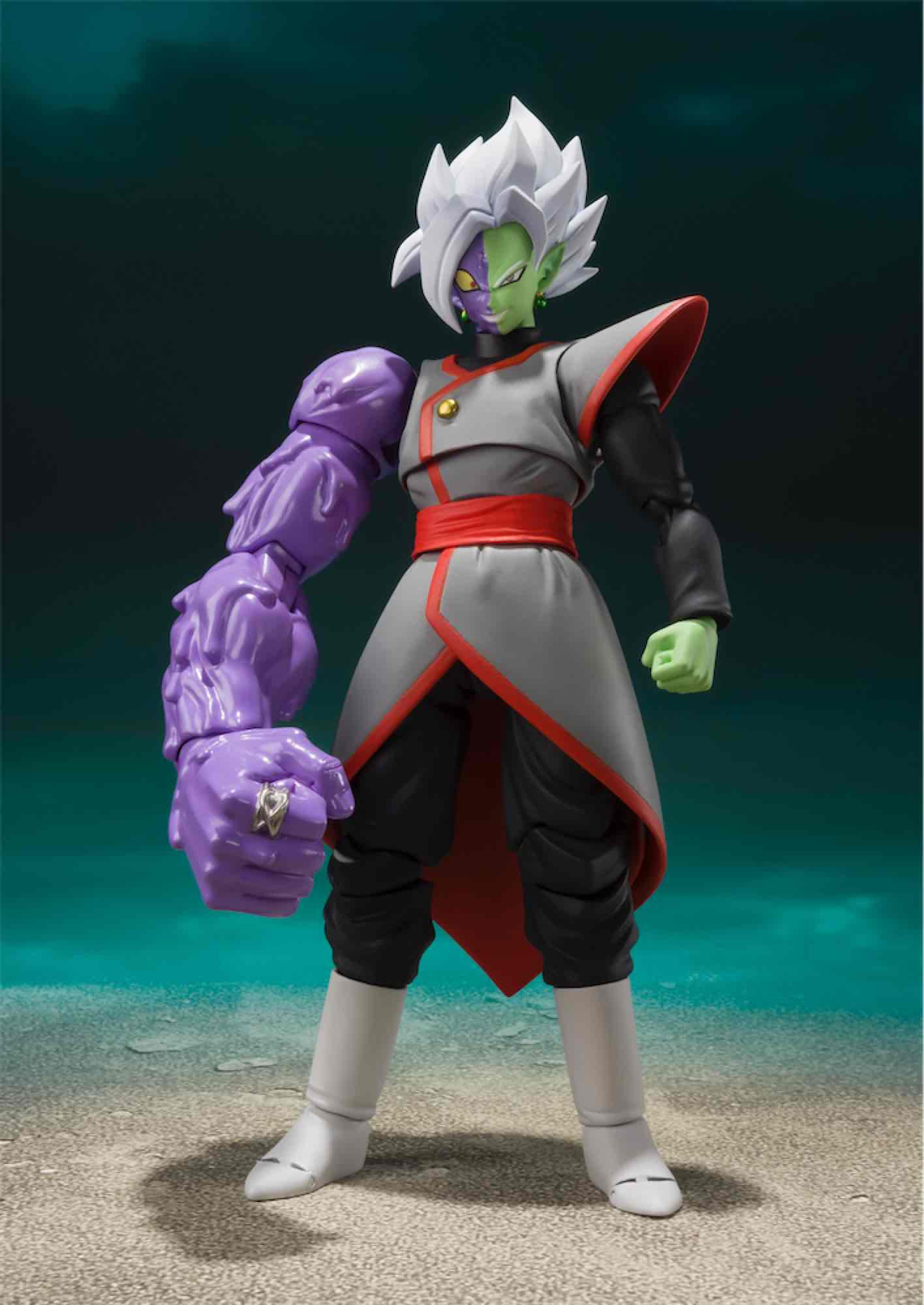 ZAMASU POTARA FIGURA 14 CM DRAGON BALL SUPER SH FIGUARTS