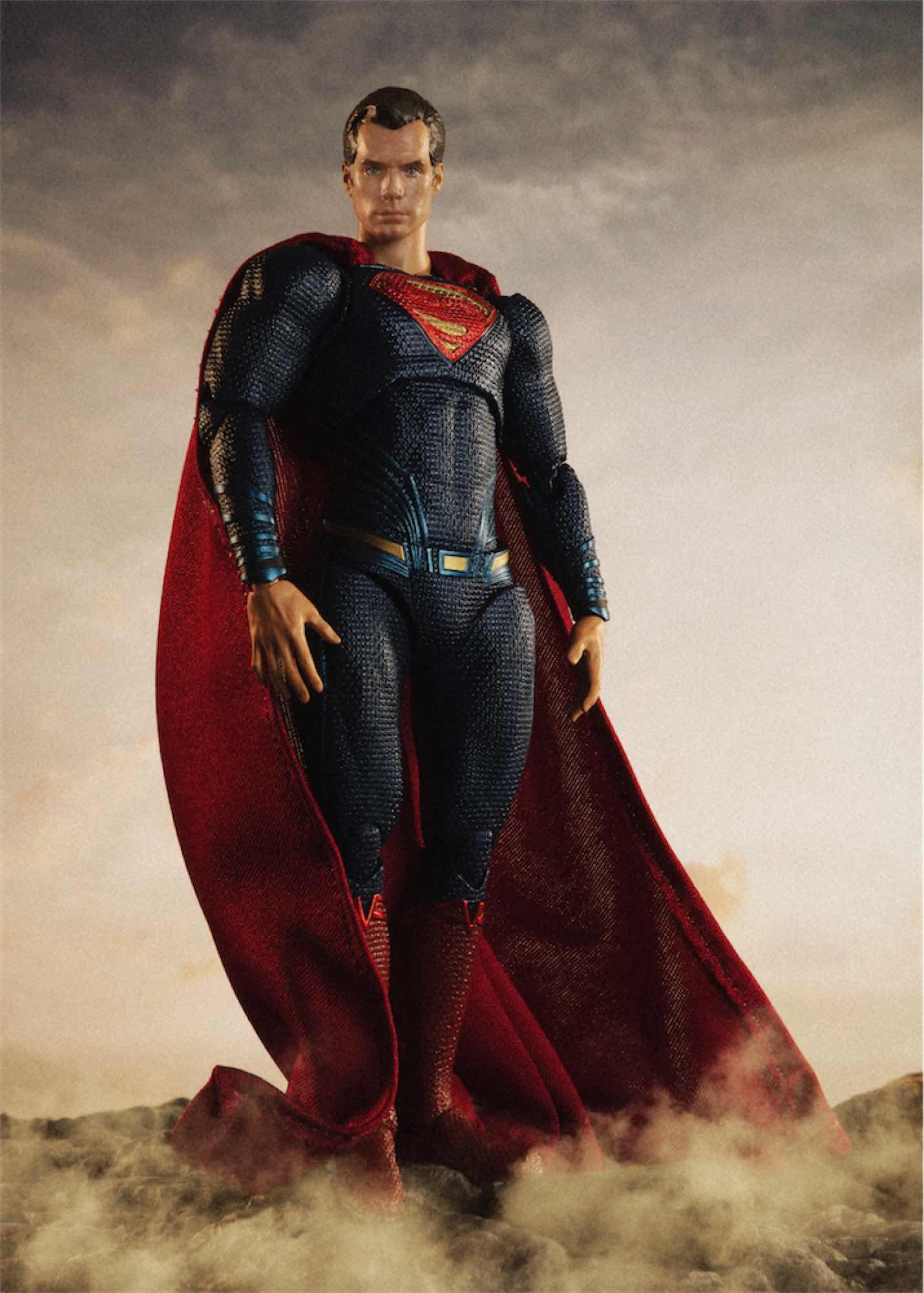 SUPERMAN JUSTICE LEAGUE FIGURA 16 CM JUSTICE LEAGUE S.H. FIGUARTS