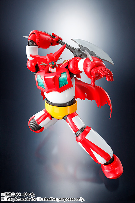 GETTER-1  FIG 14 CM GETTER ROBO SUPER ROBOT CHOGOKIN