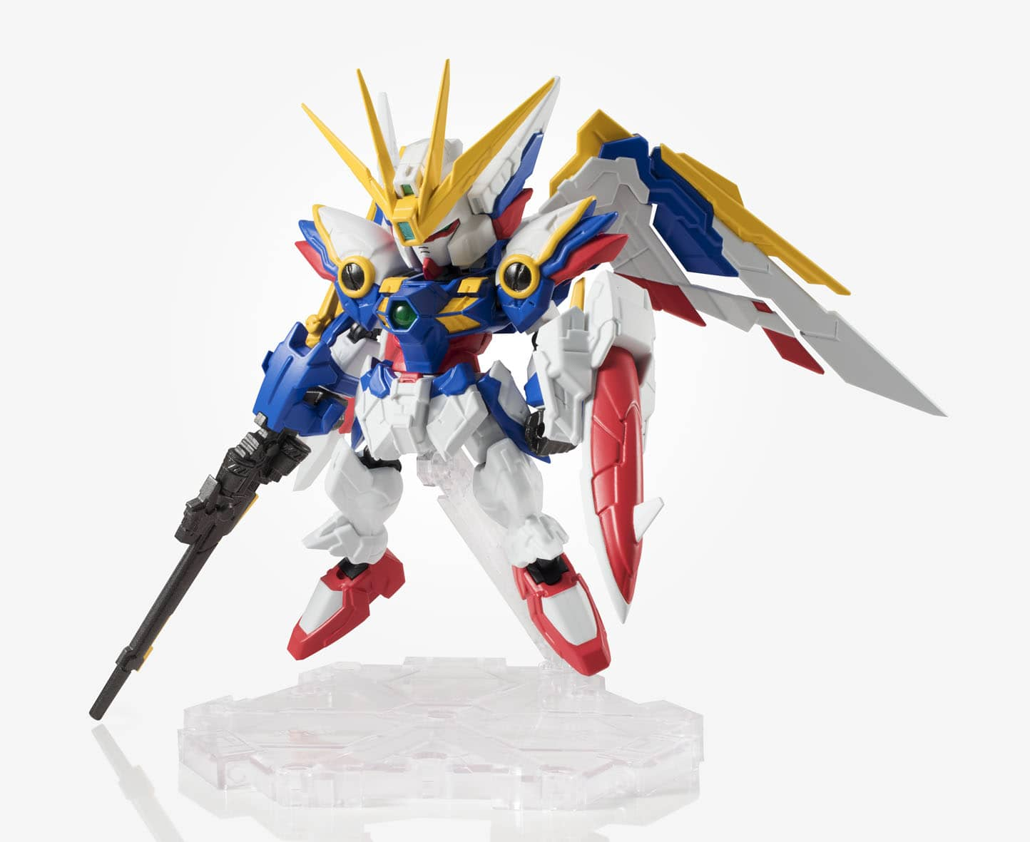 MS WING GUNDAM FIGURA 10 CM MOBILE SUIT GUNDAM W ENDLESS WALTZ NXEDGE STYLE