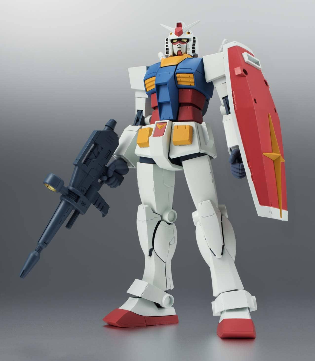 RX78-2 GUNDAM VERSION A.N.I.M.E. FIGURA 12,5 CM MOBILE SUIT GUNDAM ROBOT SPIRITS