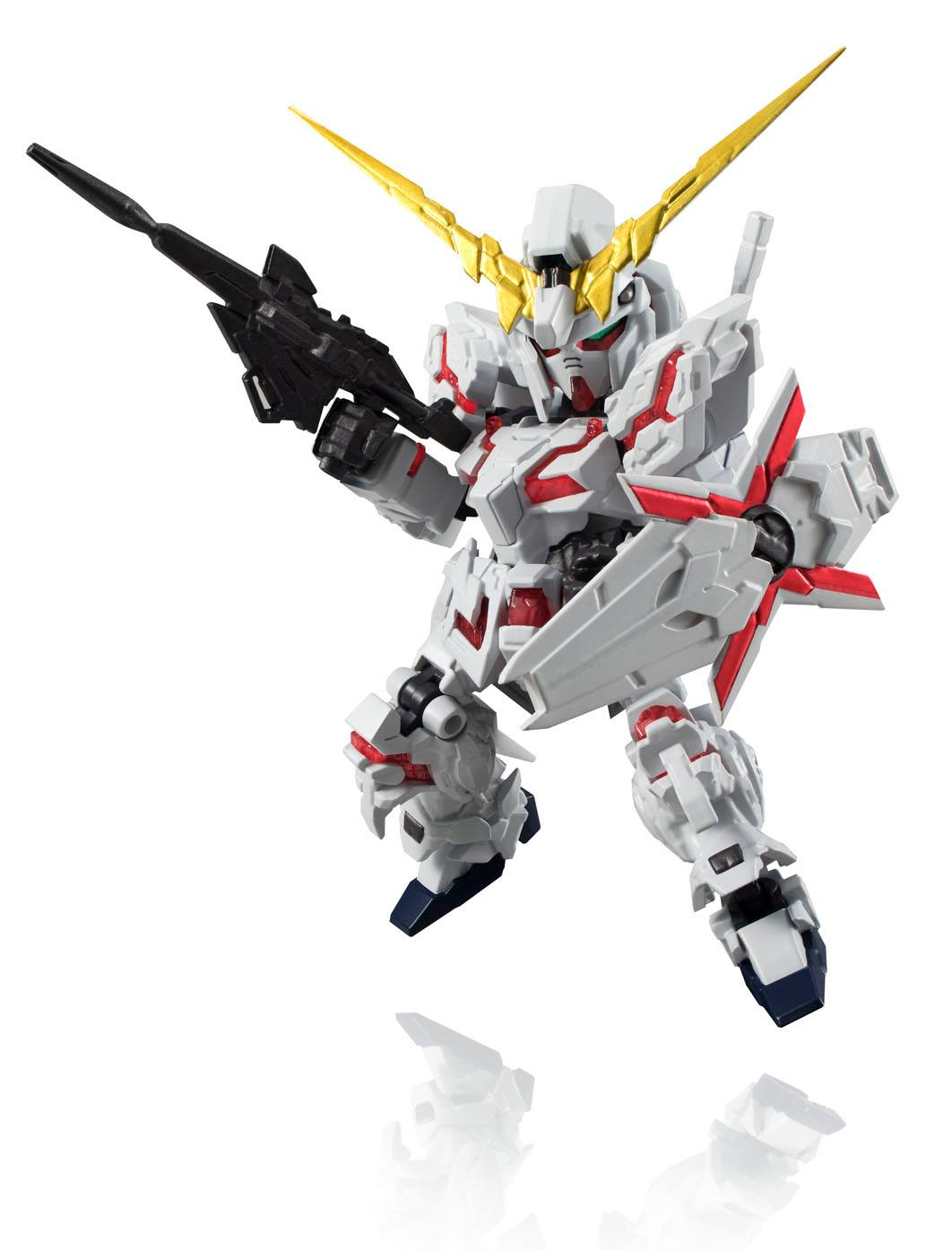 UNICORN GUNDAM DESTROY MODE FIGURA 10 CM GUNDAM UNICORN NXEDGE STYLE