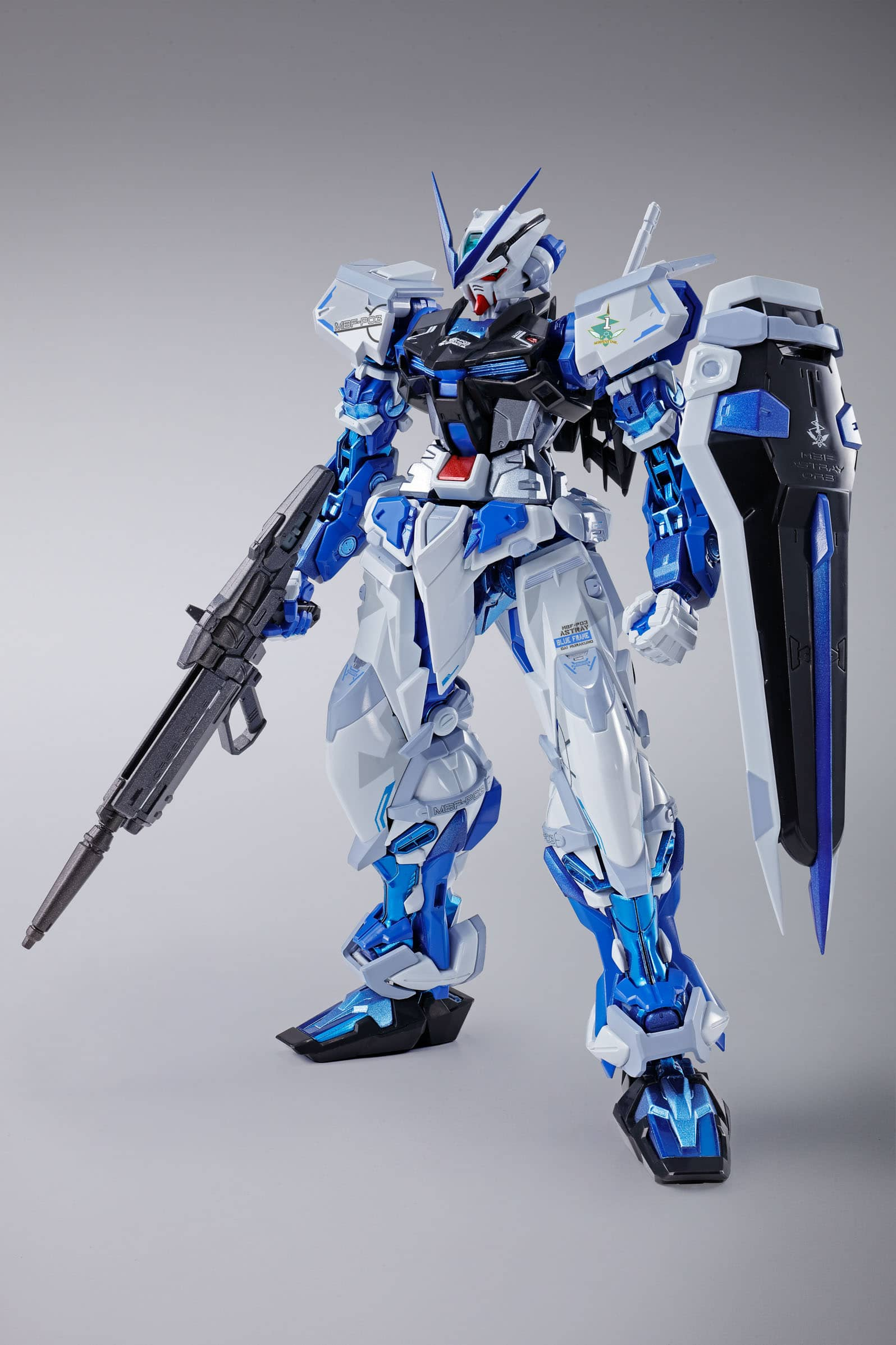 GUNDAM ASTRAY BLUE FRAME FIGURA 18 CM MOBILE SUIT GUNDAM SEED ASTRAYS METAL BUILD