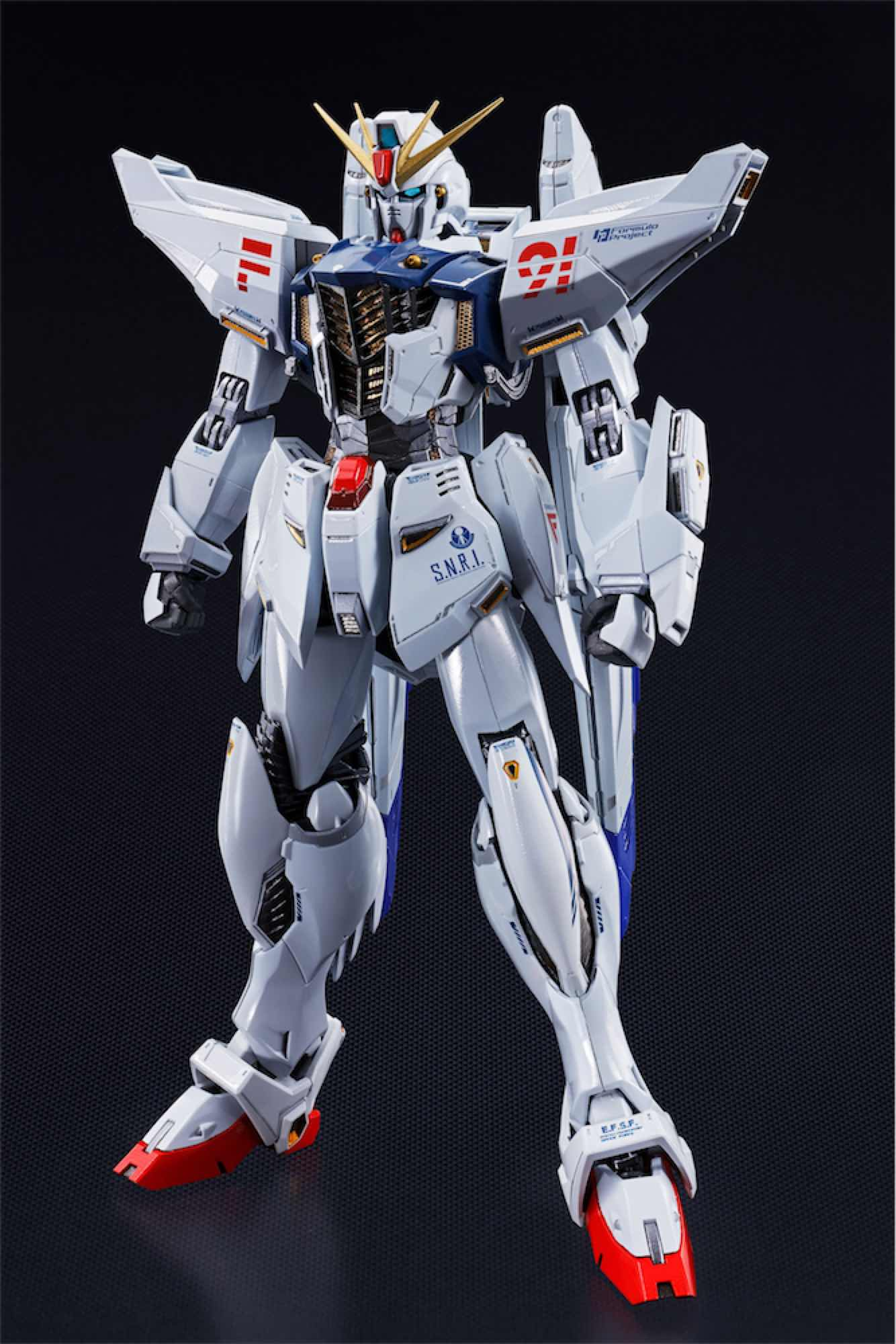 GUNDAM F91 FIGURA 17 CM MOBILE SUIT GUNDAM F91 METAL BUILD