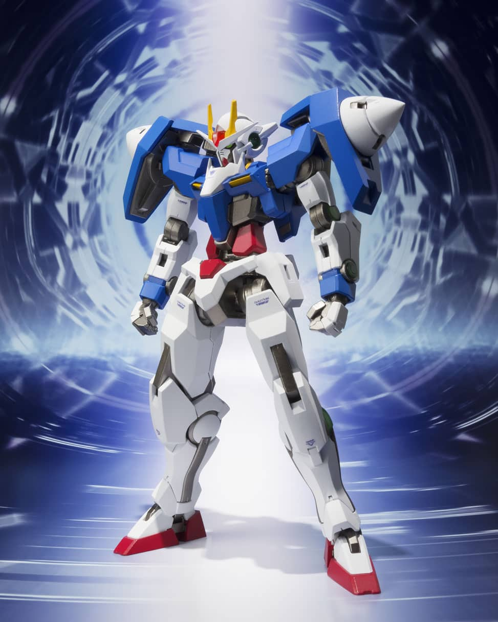 00 RAISER + GN SWORD III FIG 13 CM MOBILE SUIT GUNDAM 00 METAL ROBOT SPIRITS