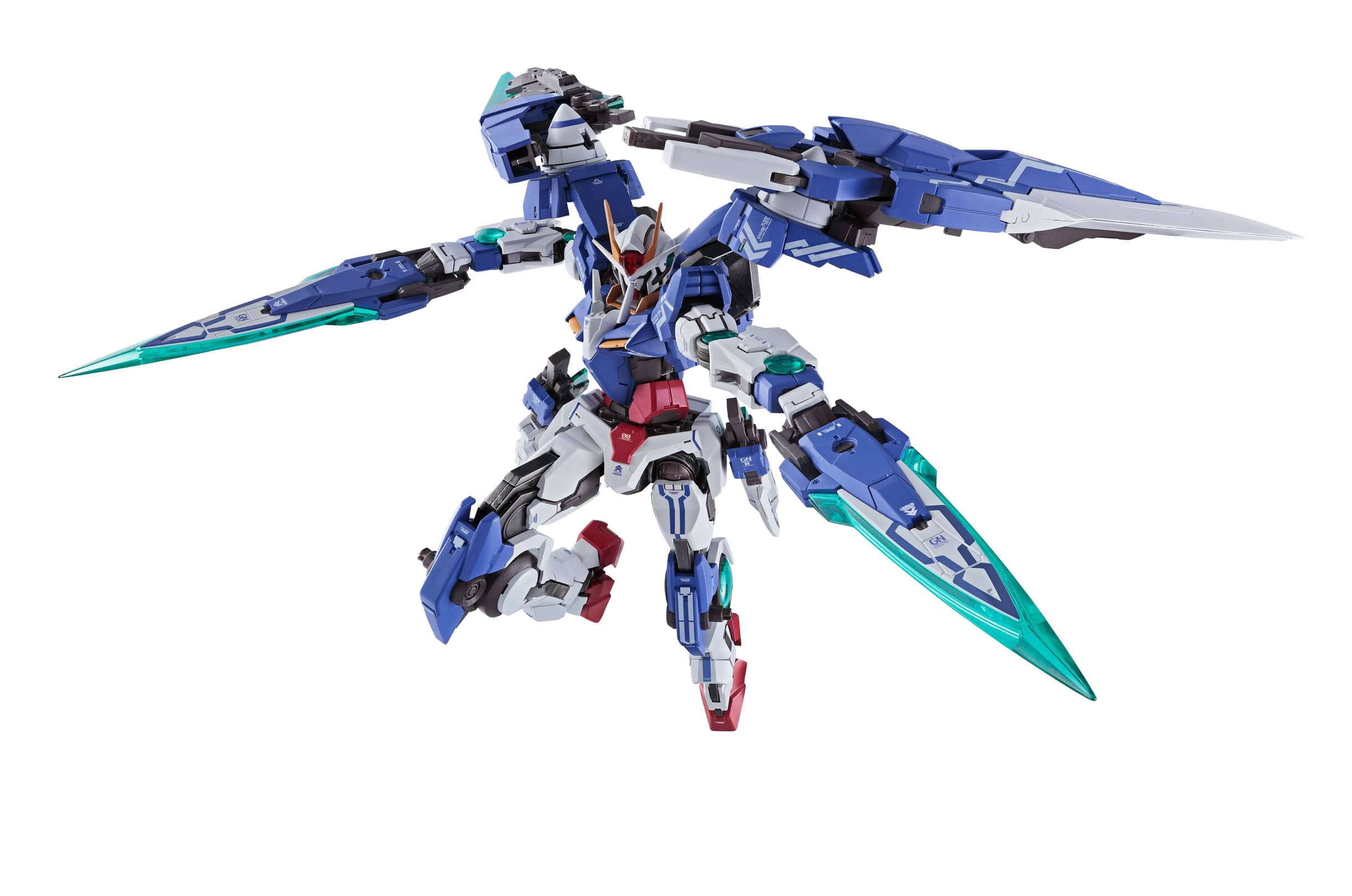 00 GUNDAM SEVEN SWORD FIGURA 18 CM MSG 00V BATTLEFIELD RECORD METAL BUILD SERIES