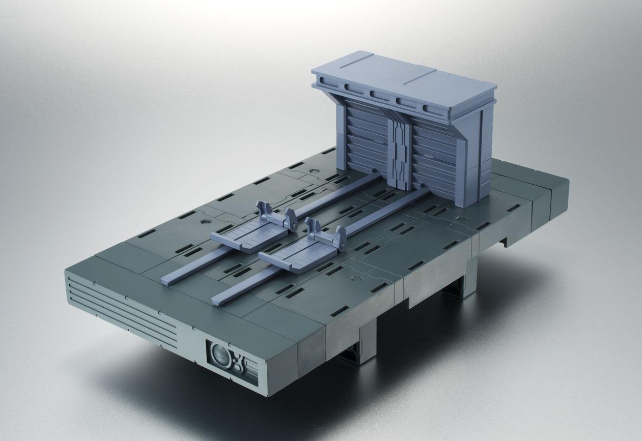BASE BLANCA HANGAR VER. A.N.I.M.E. DISPLAY 25x22 CM MOBILE SUIT GUNDAM ROBOT SPIRITS