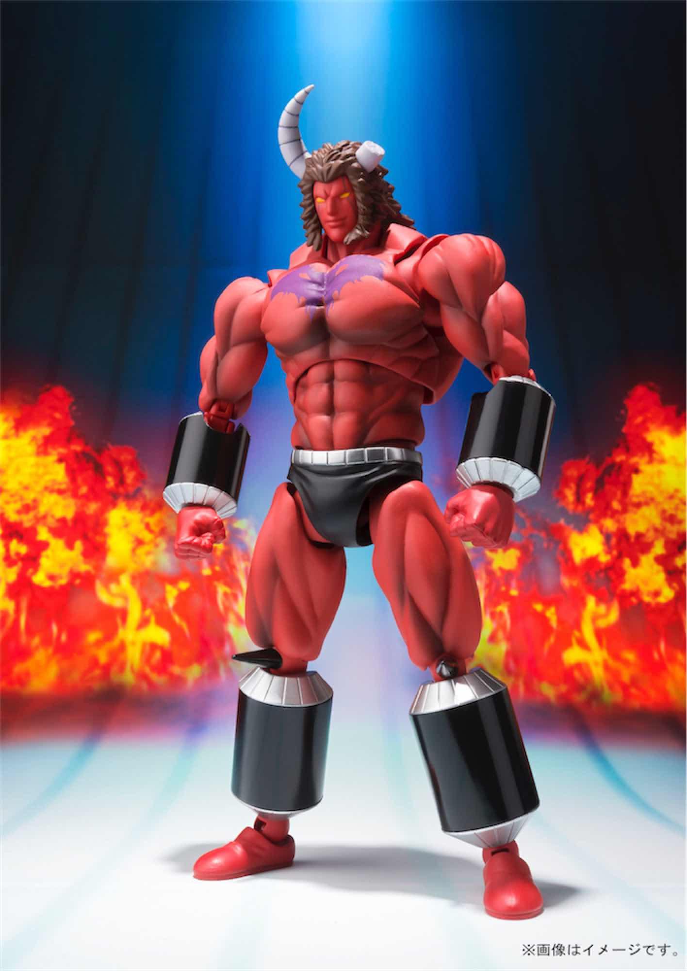 BUFFALO MAN 10 MILLION POWER VER. OCE FIGURA 17 CM KINNIKUMAN SH FIGUARTS