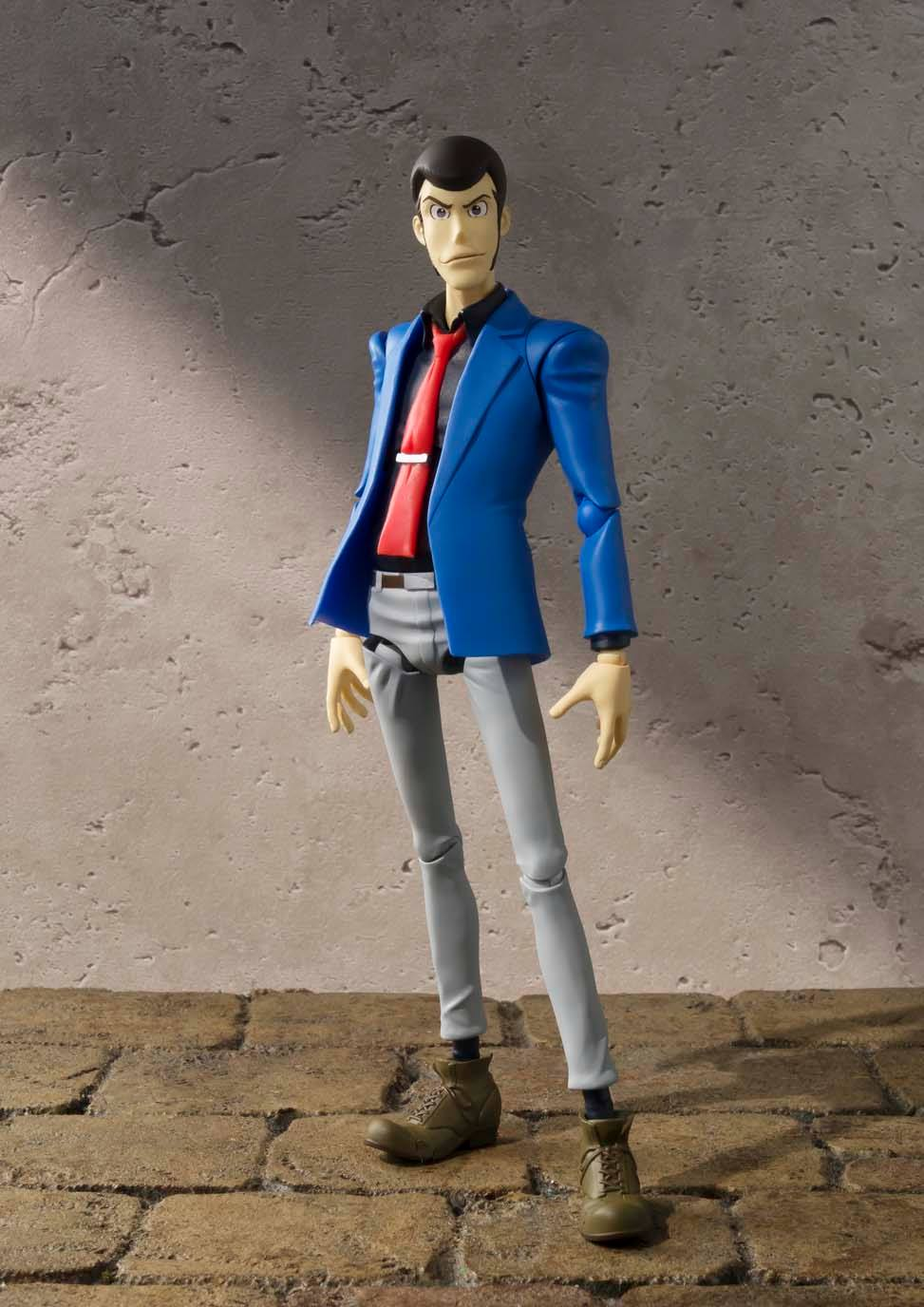 LUPIN III THE THIRD FIGURA 15 CM LUPIN THE THIRD SH FIGUARTS