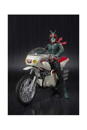 SET MASKED RIDER 2 & REMODELED CYCLONE REPLICA 18 CM MASKED RIDER S.H. FIGUARTS