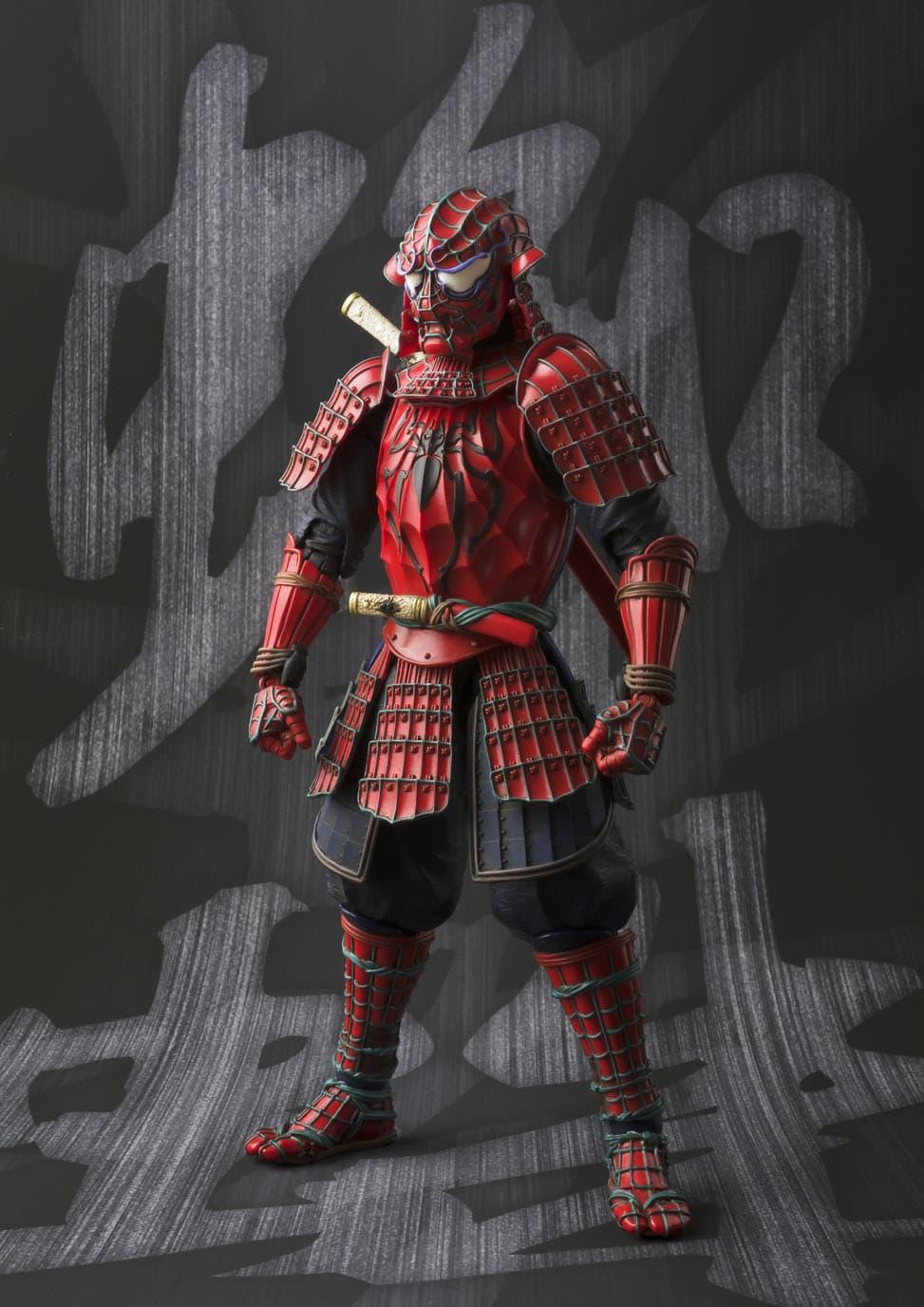 SAMURAI SPIDER-MAN FIGURA 18 CM MARVEL MEISHO MANGA REALIZATION