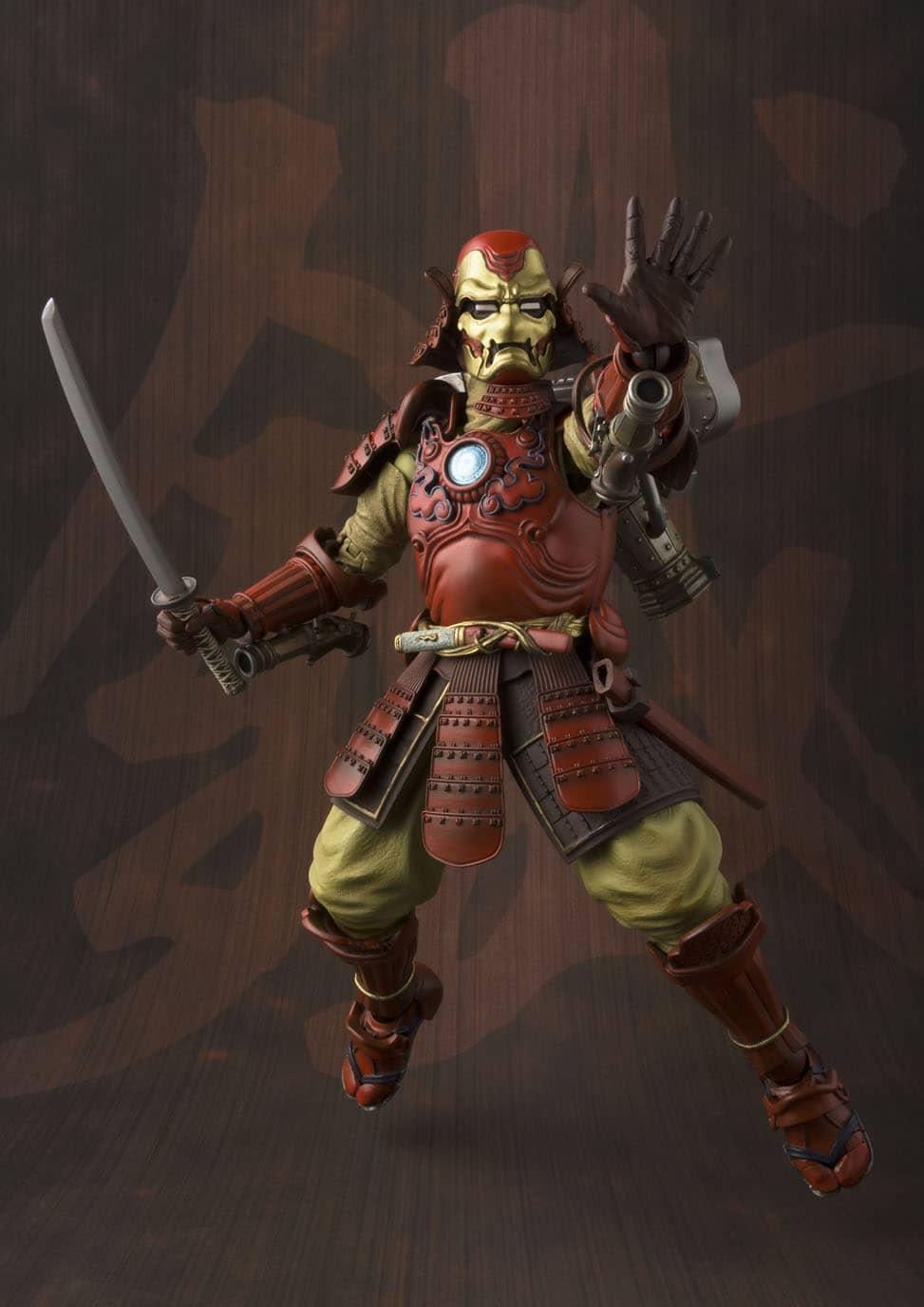 IRON MAN SAMURAI MK3 FIGURA 18 CM MARVEL MEISHO MANGA REALIZATION