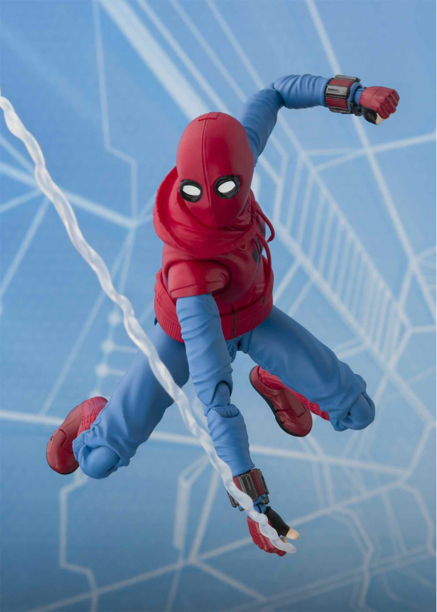 SPIDER-MAN HOME-MADE SUIT VERSION FIGURA 14 CM SPIDER-MAN HOMECOMING S.H. FIGUARTS