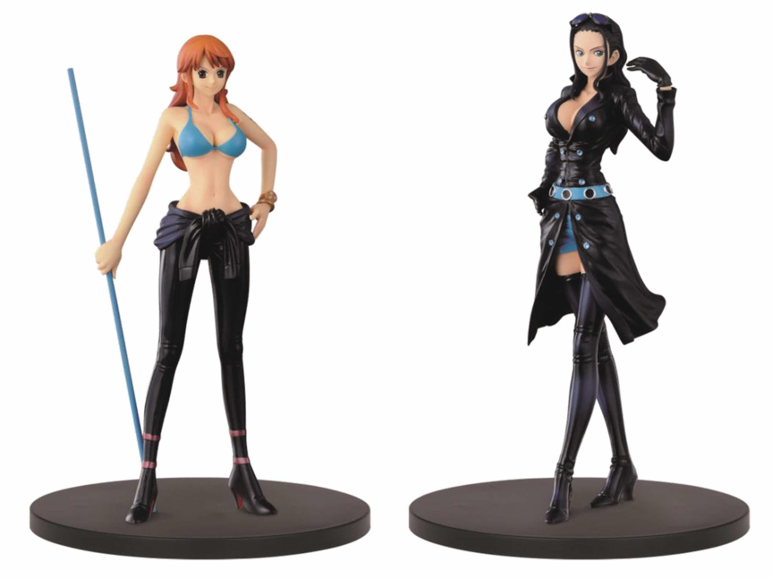 NAMI + NICO ROBIN SET 2 FIGURAS 14 CM ONE PIECE FILM GOLD THE GRANDLINE LADY VOL 2