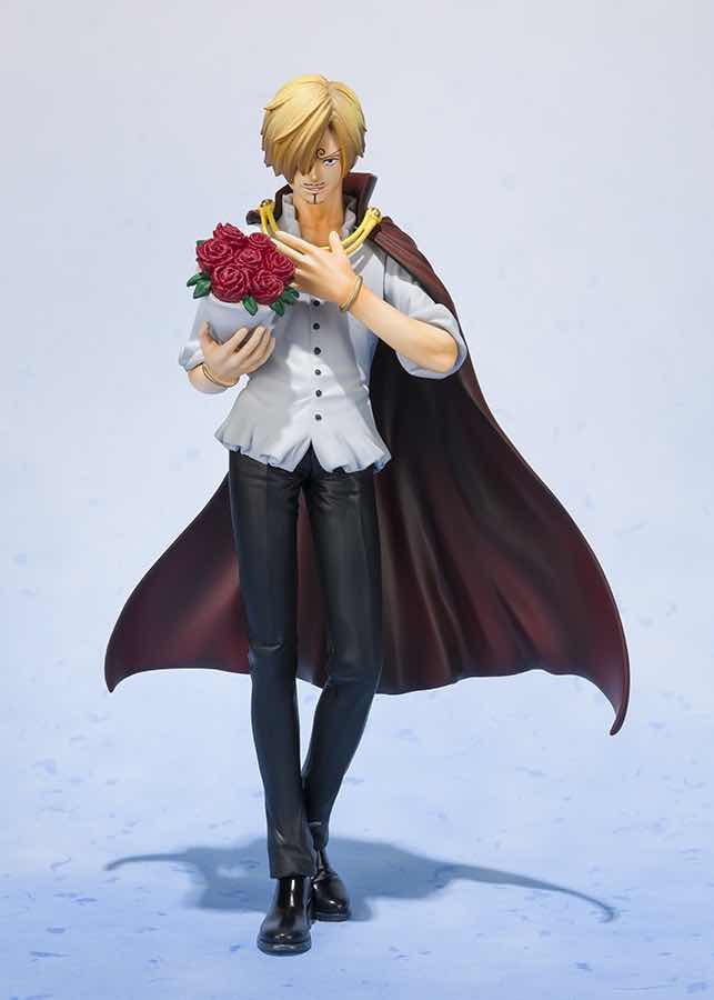 SANJI WHOLE CAKE ISLAND VERSION FIGURA 17 CM ONE PIECE FIGUARTS ZERO