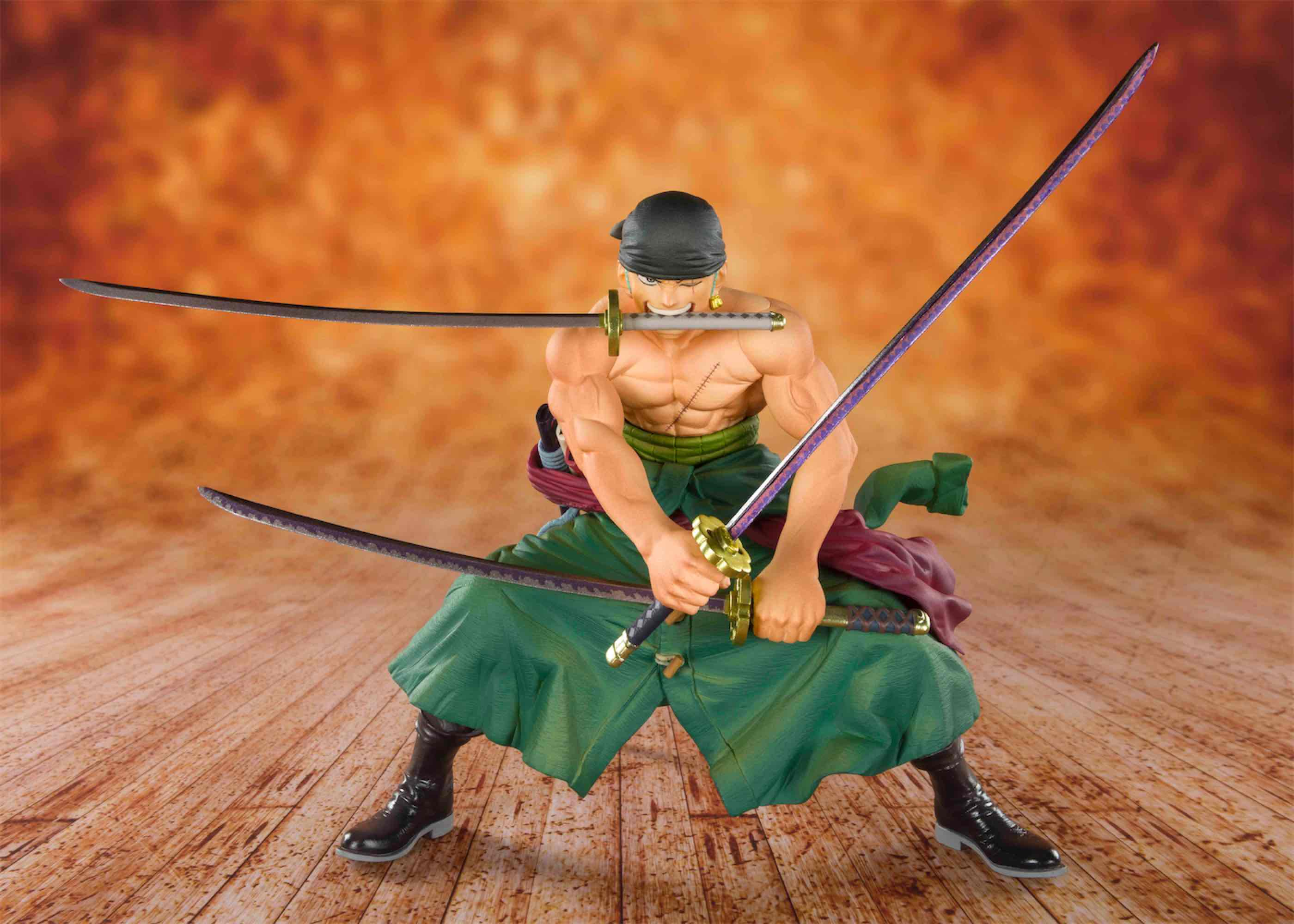 ZORO PIRATE HUNTER FIGURA 11 CM ONE PIECE TV FIGUARTS ZERO