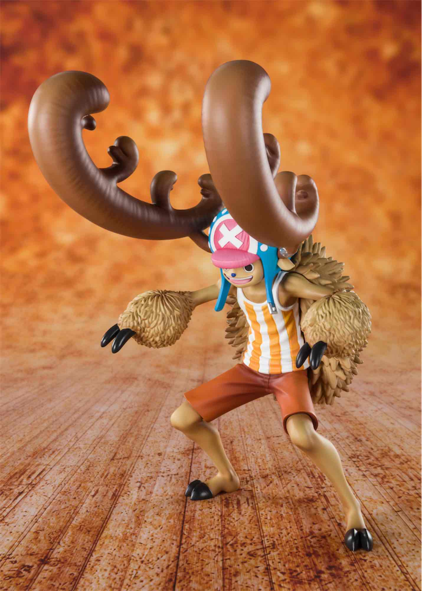 CHOPPER HORN POINT COTTON CANDY LOVER FIGURA 14 CM ONE PIECE TV FIGUARTS ZERO