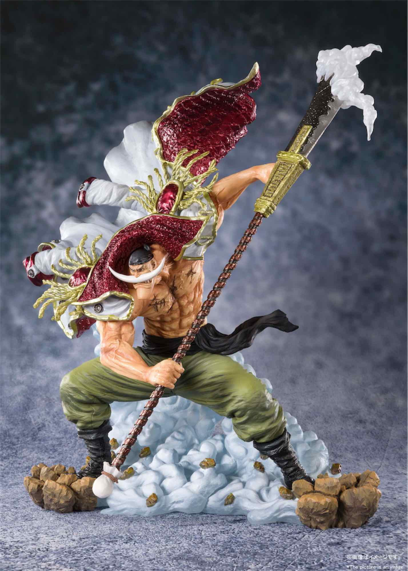 EDWARD NEWGATE PIRATE CAPTAIN FIGURA 27 CM ONE PIECE FIGUARTS ZERO