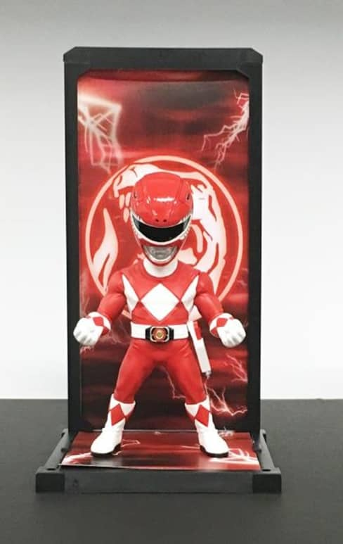 RED RANGER FIGURA 9 CM MIGHTY MORPHIN POWER RANGERS TAMASHII BUDDIES