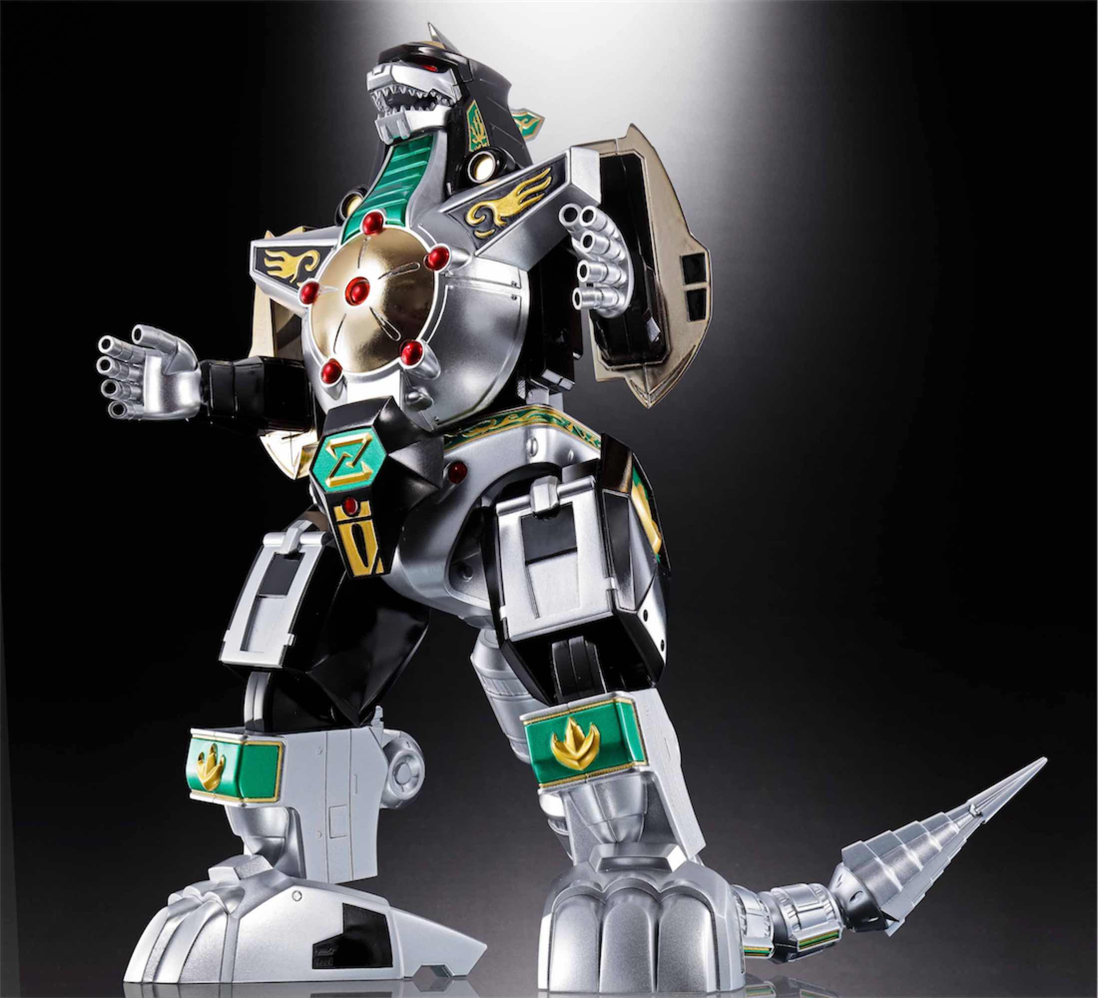 GX-78 DRAGONZORD FIGURE 23 CM POWER RANGERS SOUL OF CHOGOKIN