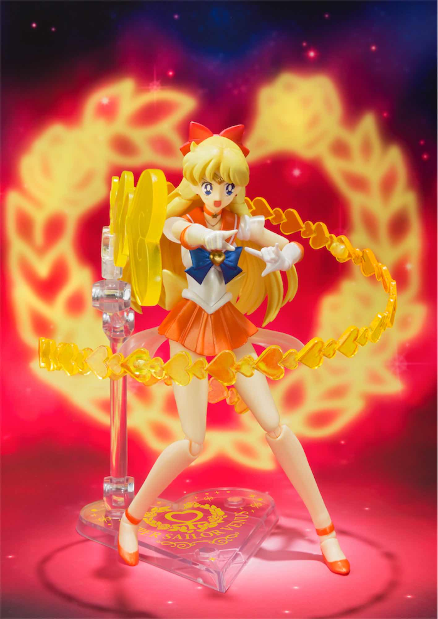 CAROLA SUPER SAILOR VENUS FIGURA 14.5 CM SAILOR MOON SUPERS S.H. FIGUARTS