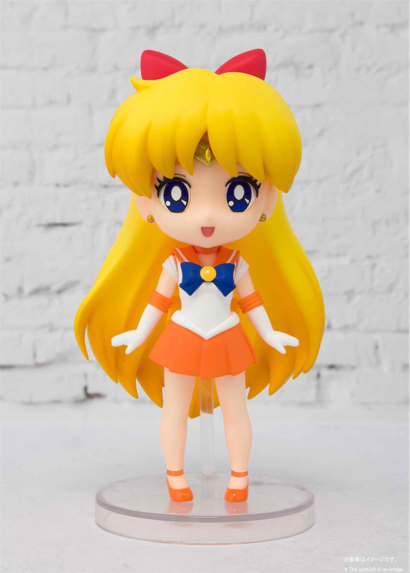 SAILOR VENUS FIGURA 9 CM SAILOR MOON FIGUARTS MINI