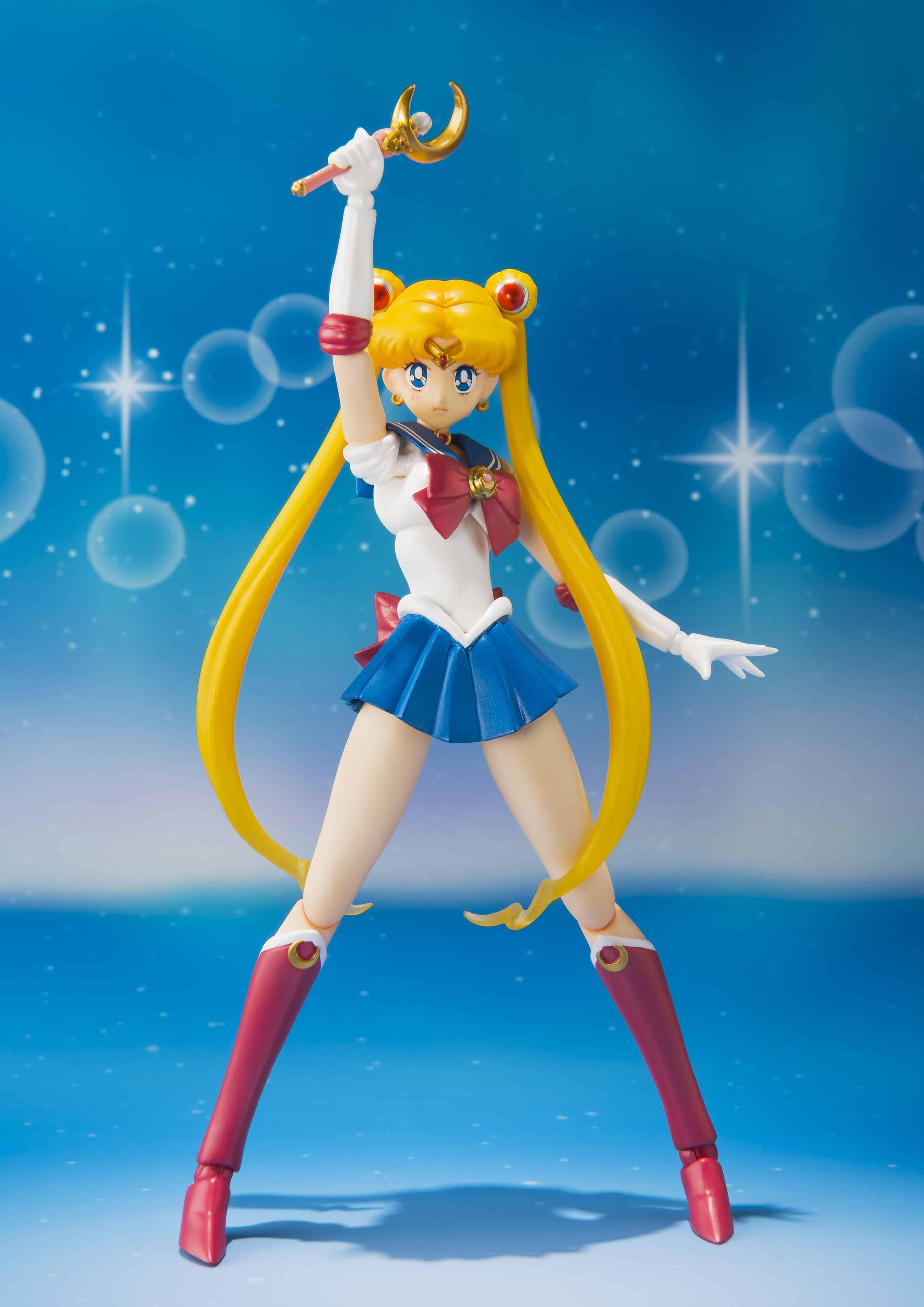 BUNNY SAILOR MOON FIGURA 14 CM SAILOR MOON S.H. FIGUARTS