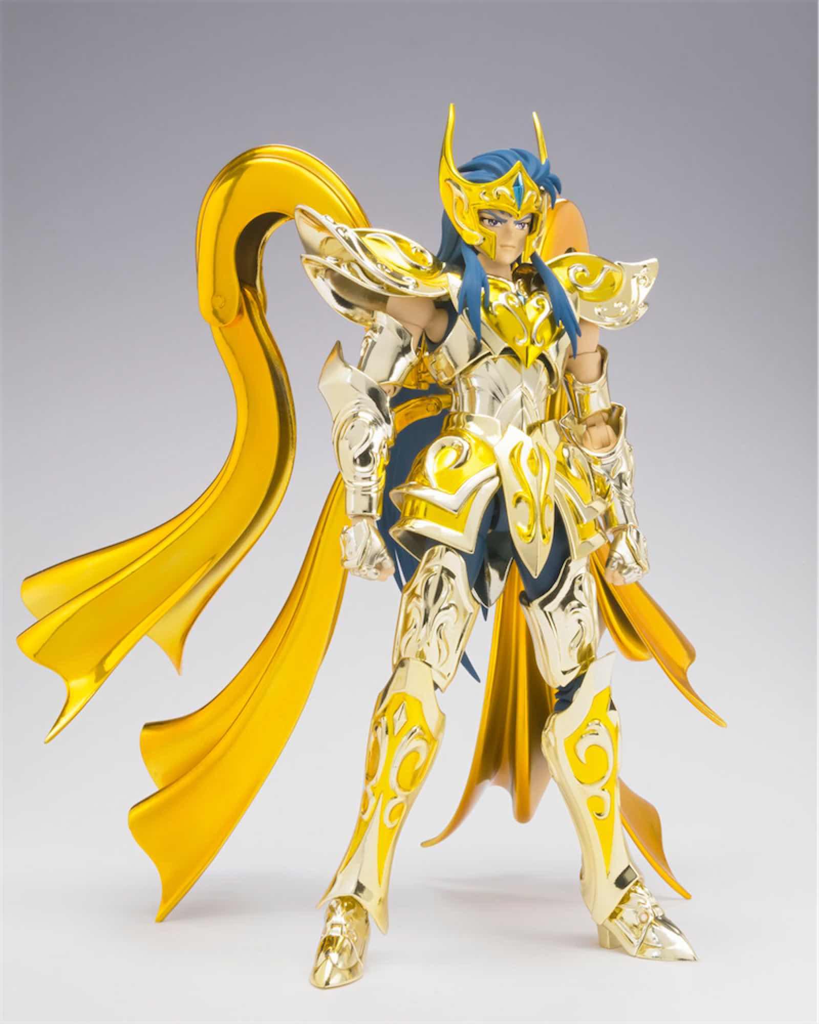 CAMUS ACUARIO NEW CLOTH FIGURA 18 CM SAINT SEIYA MYTH CLOTH EX SOUL OF GOLD