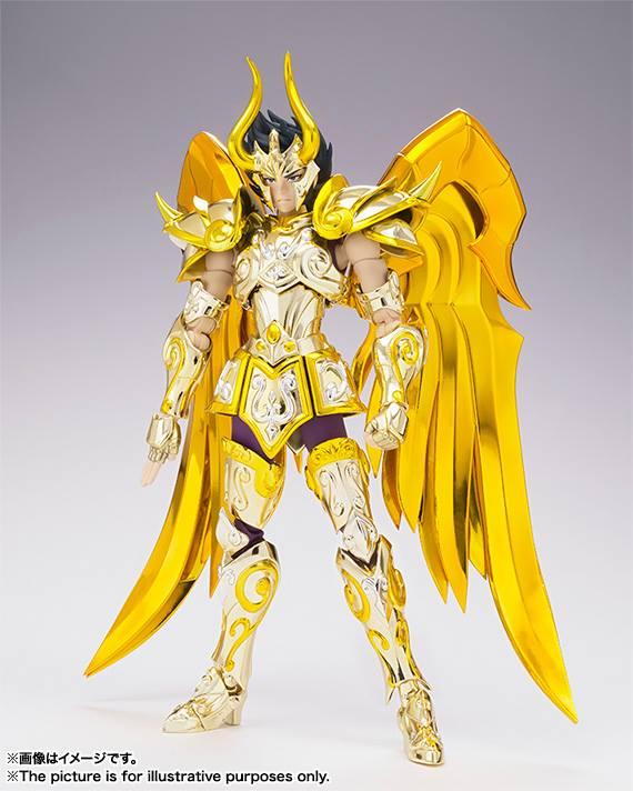 SHURA ARMADURA CAPRICORNIO NEW CLOTH FIGURA 18 CM SAINT SEIYA MYTH CLOTH EX SOUL OF GOLD